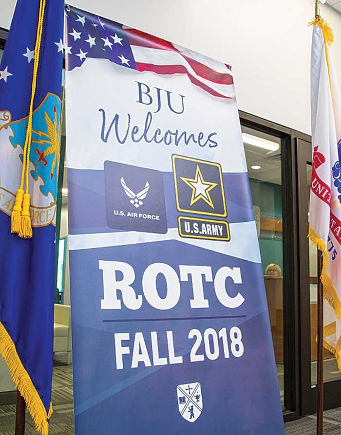 BJU ROTC coming this Fall 2018.