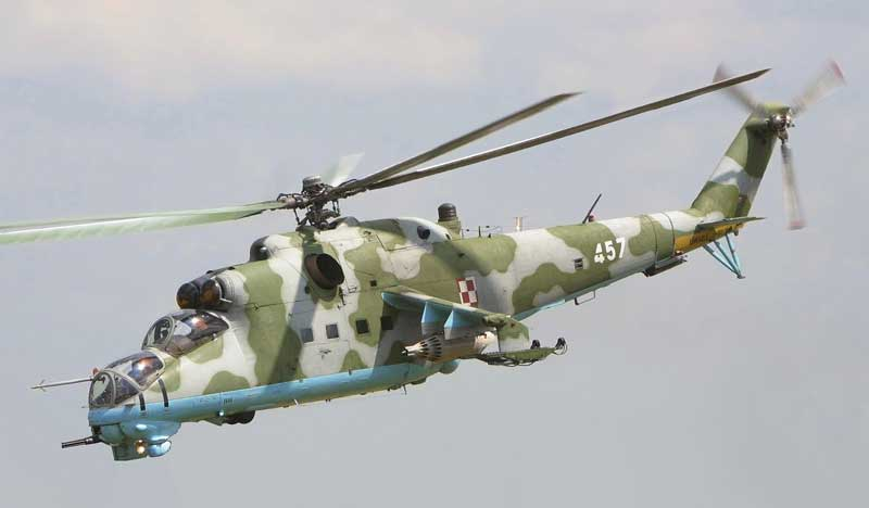 Soviet Mi-24 helicopter gunship. Inflicted heavy casualties on Mujahidin holly warriors.