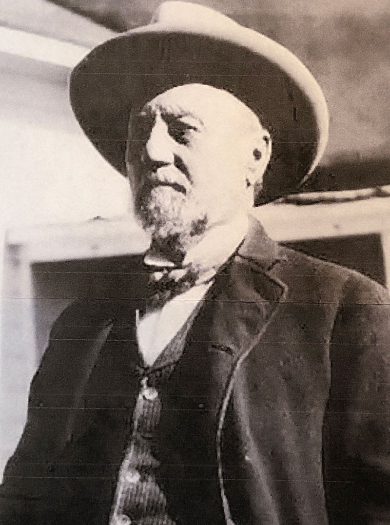 Henry C. Hooker (1828-1907) Founder of the Sierra Bonita Ranch, First American Cattle Ranch in Arizona (1872).