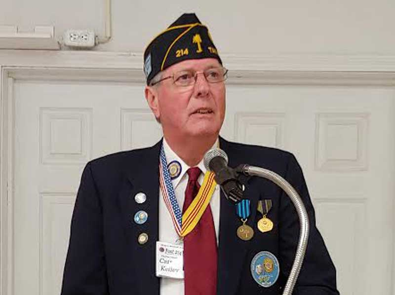 American Legion New Districtc 5 Commander