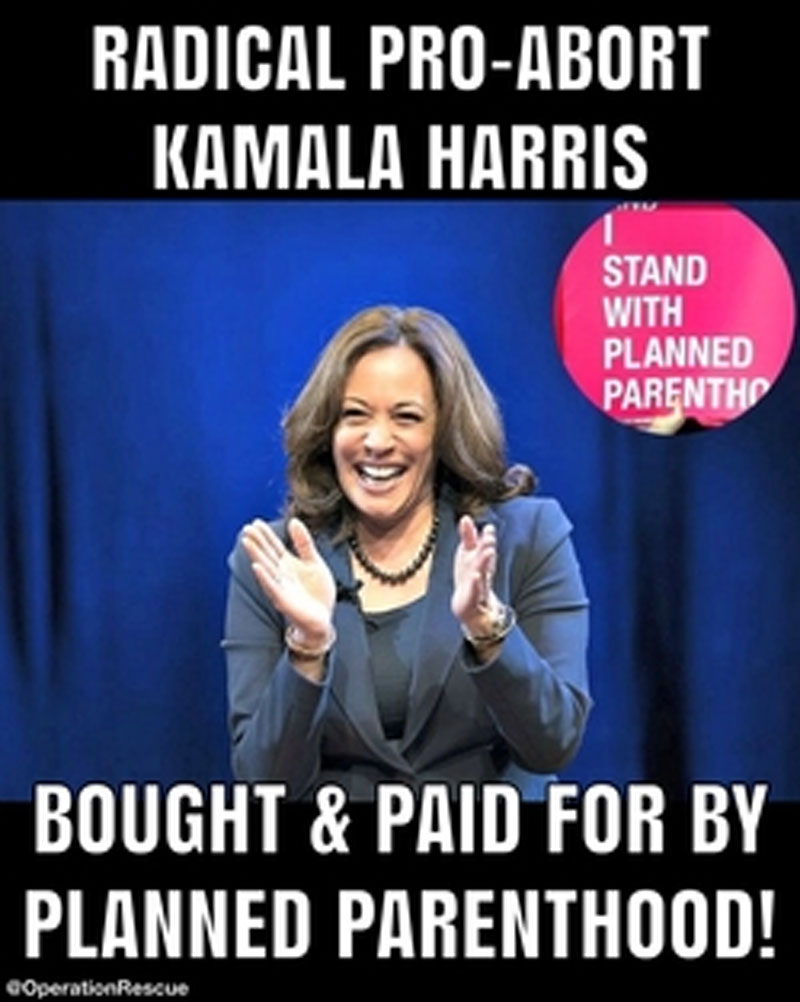 VP Candidate Harris Planned Parenthood