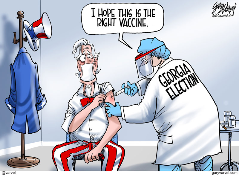 Gary Varvel Political Cartoon
