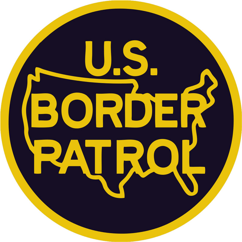 U.S. Border Patrol Patch.
