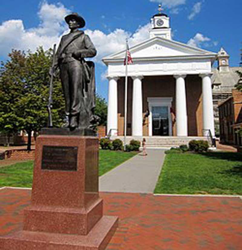 Winchester VA Confederate Monument