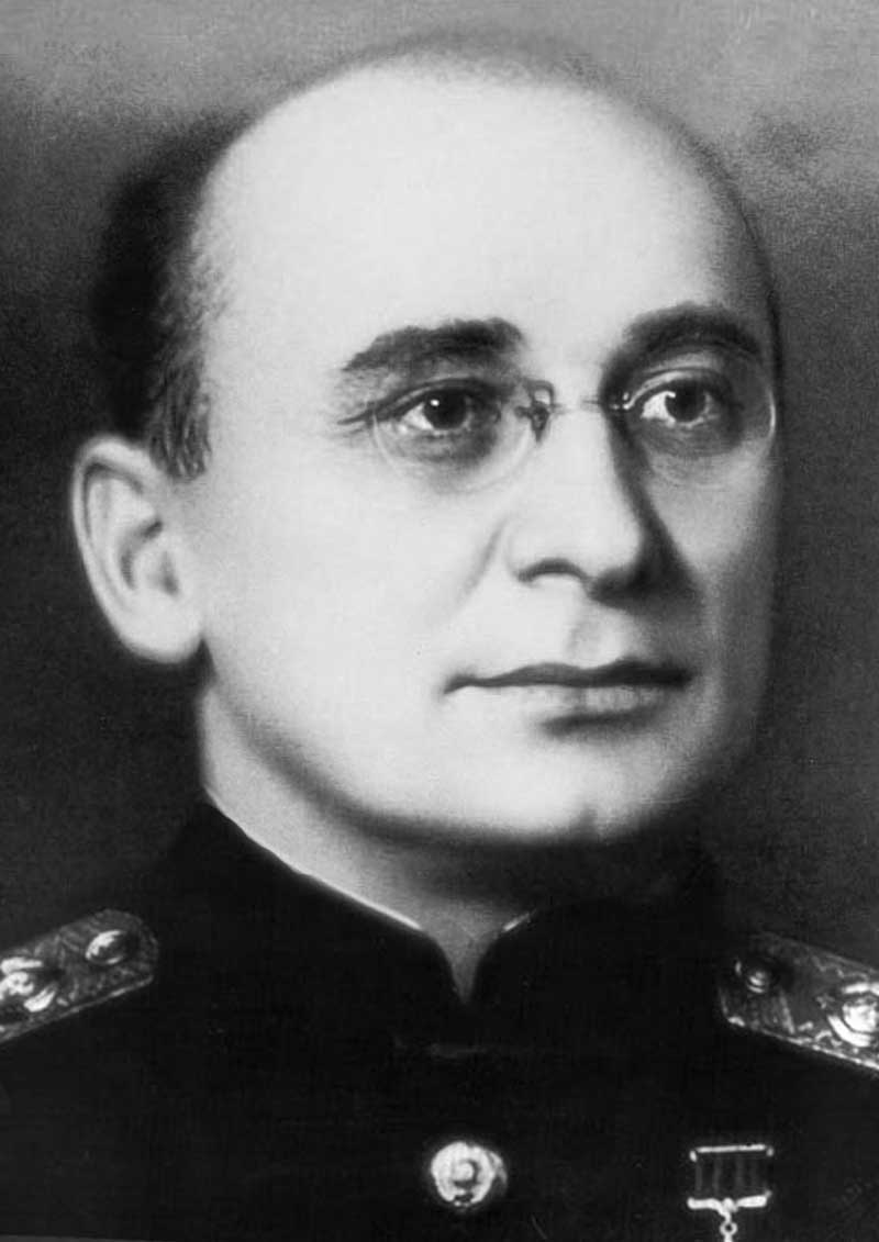 Lavrentiy Beria (wiki photo) - Stalin's Chief of Secret Police, Part of USSR Ministry of Internal Affairs, under various names  1941 to 1953