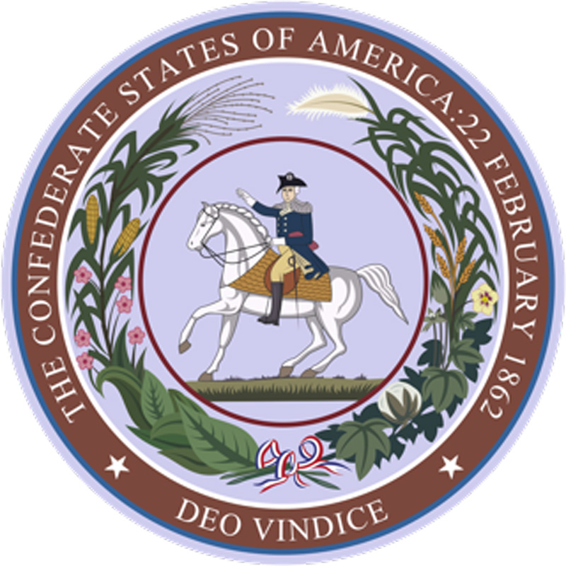 The Great Seal of the Confederate States of America