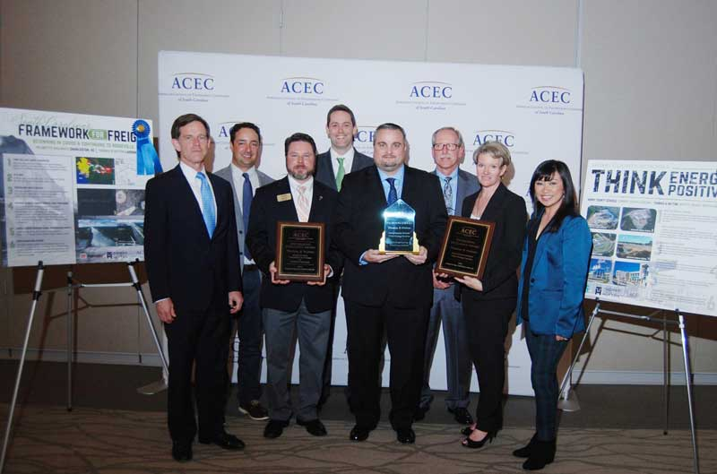 ACEC-SC Palmetto Award Winners, Engineering Excellence Award Winners, and ACEC National Finalist, Thomas & Hutton Engineering