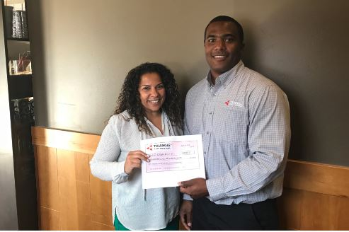 Dawn Arvelo, a Johnson C. Smith University student, received a 2018 Academic Scholarship from Triangle Pest Control.