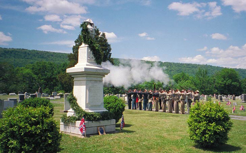 Confederate Monument in Romney, WV