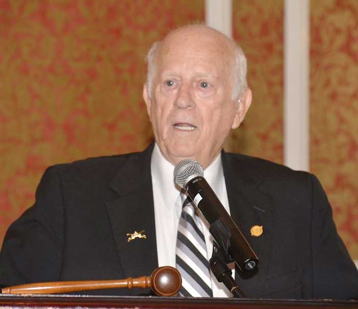 Retired State Senator Lewis Vaughn