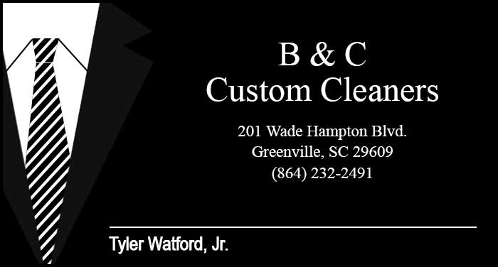 B & C Custom Cleaners