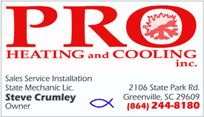 Pro Heating and Cooling, Inc.