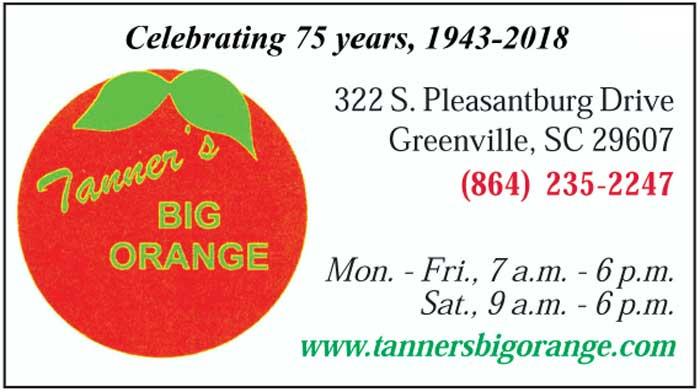 Tanner's Big Orange