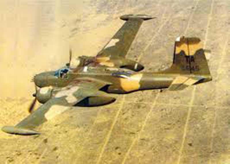 USAF A-26K attack-bomber, circa 1966